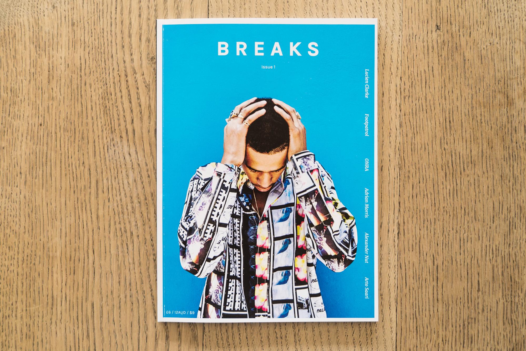 Breaks Unveils First Print Magazine & Lucien Clarke Film