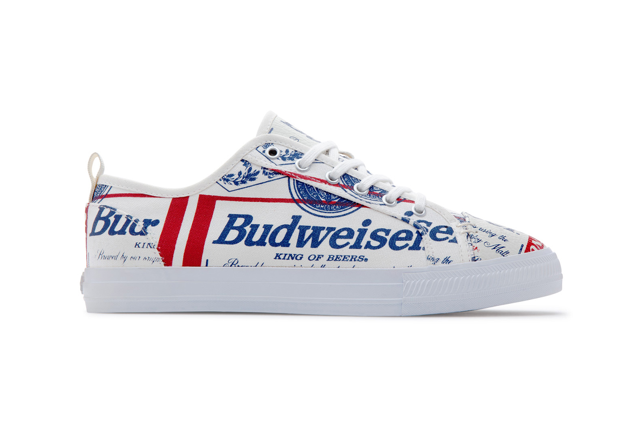 Budweiser Teams up With ALIFE for a New Take on Greats' Wilson Sneaker