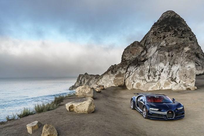 The Bugatti Chiron Hits U.S. Soil In Near-Production Form