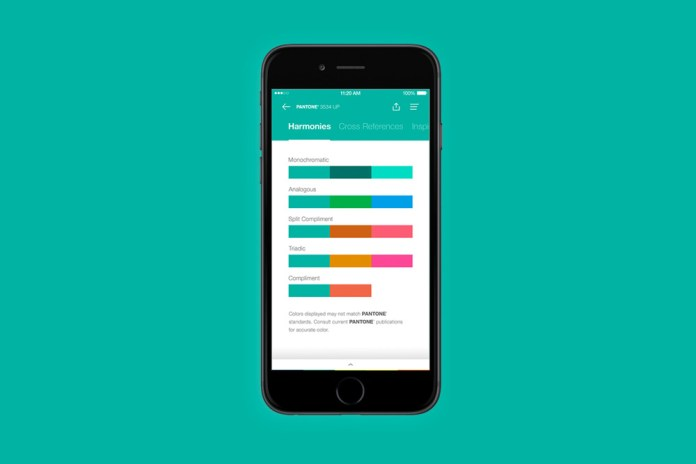 Build Palettes on the Go With the Pantone App
