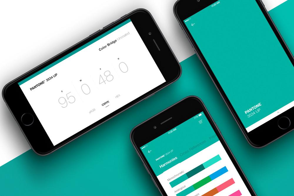 Build Palettes On The Go PANTONE App