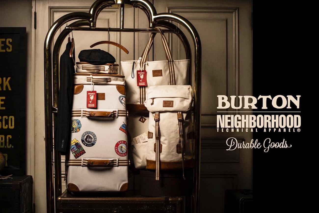 Jetset in Style with Burton x NEIGHBORHOOD's Heritage Traveller Collection