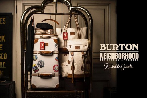 Jetset in Style with Burton x NEIGHBORHOOD's Heritage Traveller Collection
