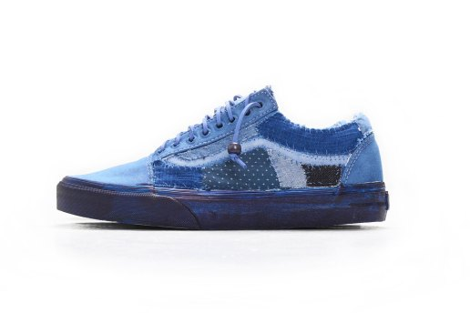 """C2H4 x Pros x Vans """"Re-Blue Project"""" Revamps the Classic Old Skool and Authentic"""