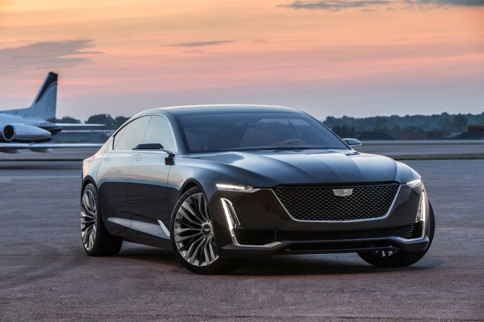 The Escala Imagines the Cadillac Sedan of the Future