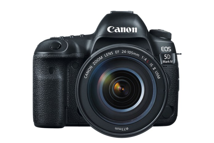Canon Unveils the EOS 5D Mark IV