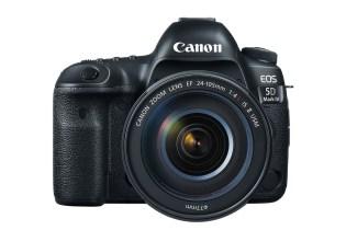 Canon Unveils the EOS 5D Mark IV