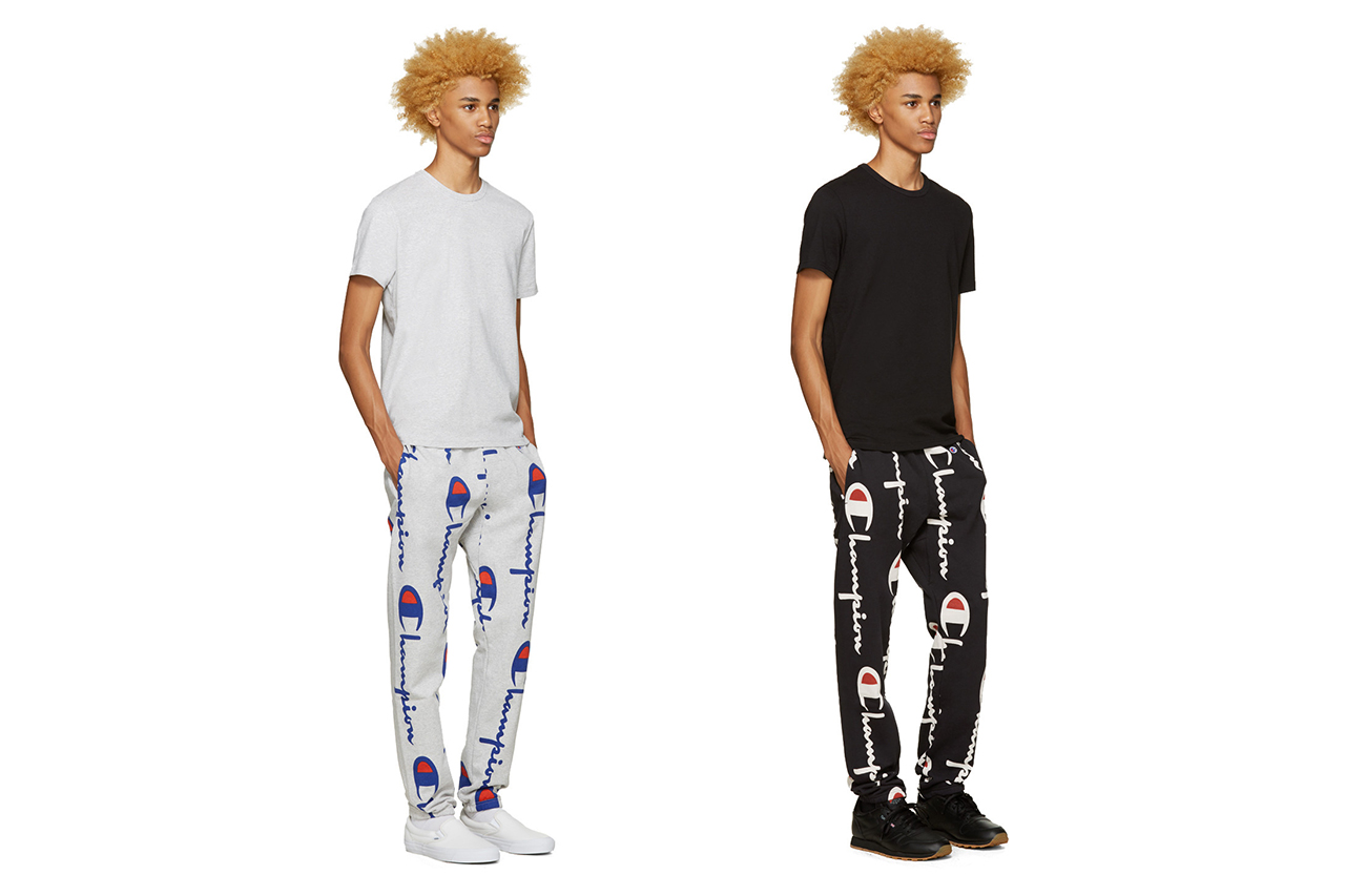 These Champion Weave Pants Will Have You Lounging in Style