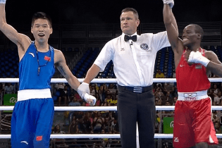 Watch as This Chinese Boxer Mistakenly Thought He Won an Olympic Boxing Match