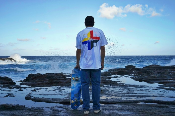 Hawaii meets LA in CLSC x In4mation's Wavy Capsule Collection