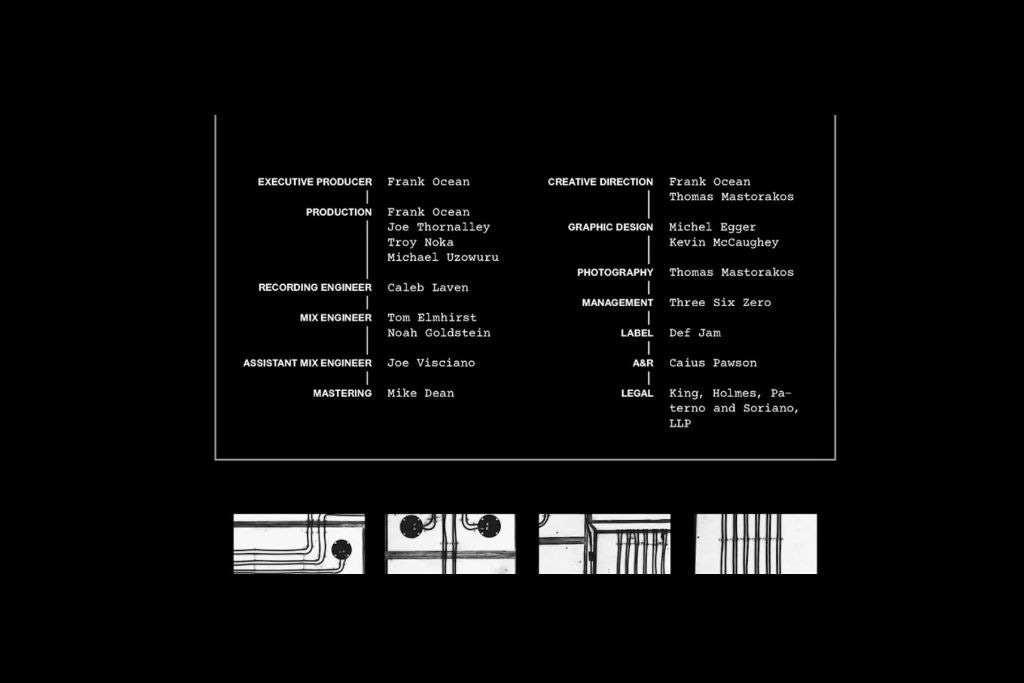 Credits Revealed Frank Ocean Visual Album Endless  Hypebeast-3946