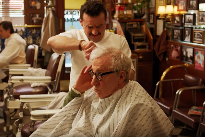 Woody Allen Demands a James Dean Haircut in This 'Crisis in Six Scenes' Sneak Peek