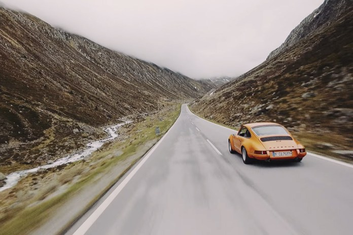 Watch Nine Glorious Porsches Weave Majestically Through the Alps