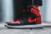 """Get Your Hands on a Pair of Exotic Custom-Made """"Banned"""" Air Jordan 1s"""