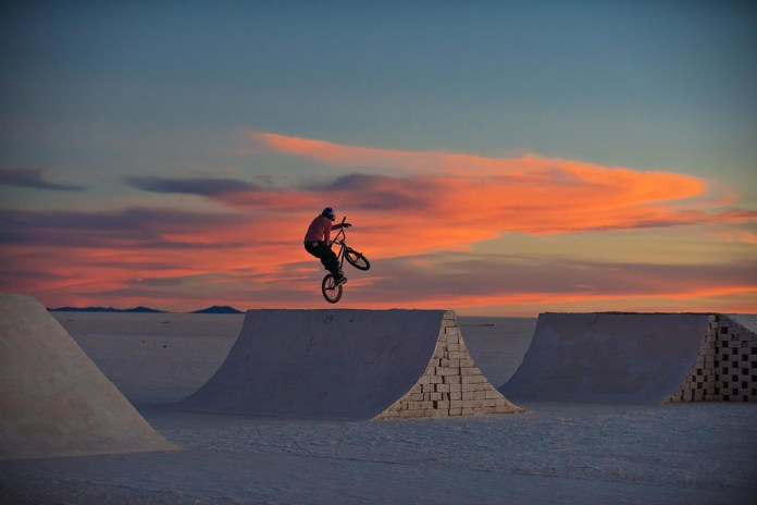 Legendary Rider Daniel Dhers Makes History in BMX's First Salt Park