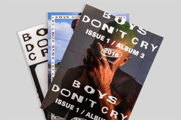 Meet the Designers Behind Frank Ocean's 'Boys Don't Cry' Zine