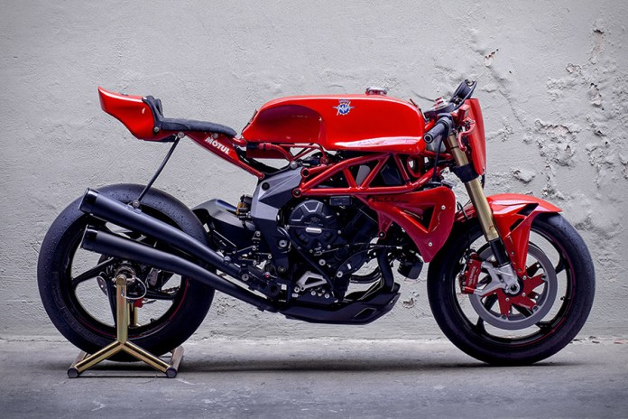 Deus Ex Machina Ago TT Motorcycle Is Named After Celebrated Champion