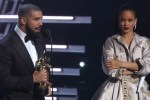 Picture of Watch Drake Present Rihanna the Video Vanguard Award at 2016 MTV Video Music Awards