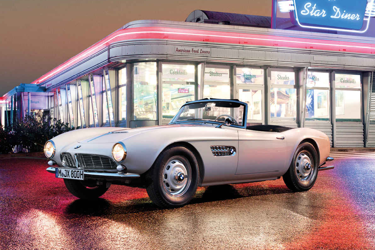 "Elvis Presley's ""507 Roadster"" Gets Restored by BMW"