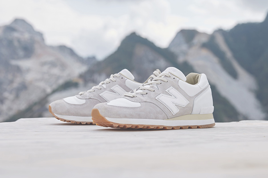 END X New Balance 575 Marble White HYPEBEAST