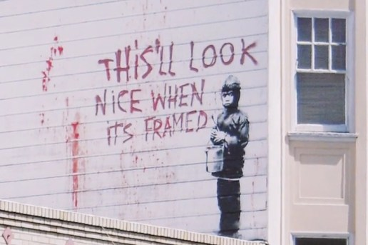 An Exclusive First Look at the Upcoming 'Saving Banksy' Documentary