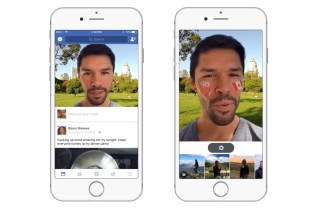Facebook Copies Snapchat Again by Rolling out Filters and Stickers