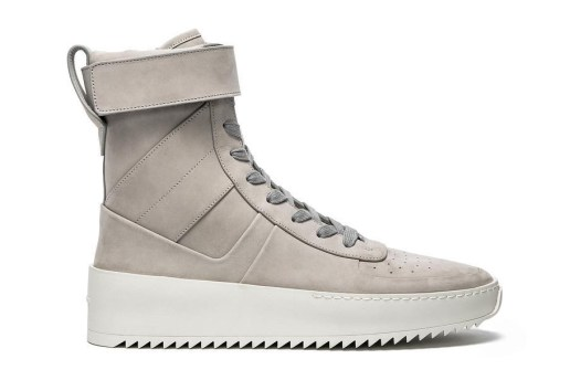 Jerry Lorenzo Unveils a Grey Fear of God Military Sneaker