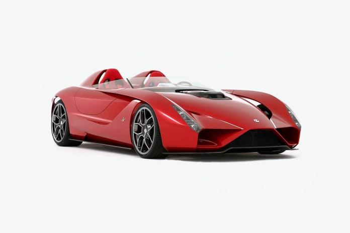 "A Former Ferrari Designer Unveils His Own ""Rosso Corsa"" Supercar"