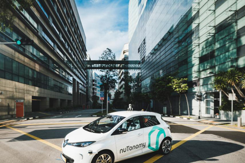 The World's First Self-Driving Taxi Hits the Streets in Singapore