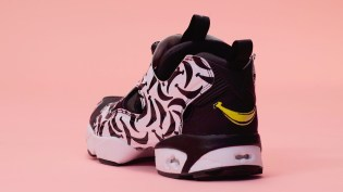 """FOSS X Reebok Cover the Instapump Fury in Bananas for the New """"Happy"""" Colorway"""