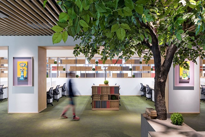 This Concept Co-Working Space Brings Nature Indoors