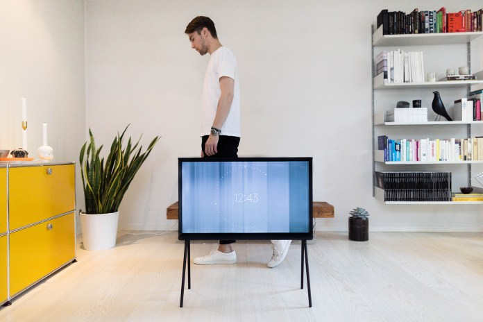 The Samsung Serif TV Blends Seamlessly With Fredrik Risvik's Refined Design Aesthetic