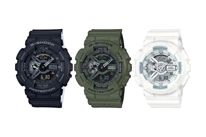 G-SHOCK's GA-110LP Watch Features a New Band Inspired by Mesh Sportswear