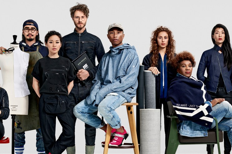 G-Star RAW Unveils Its First Campaign Under Pharrell's Creative Direction