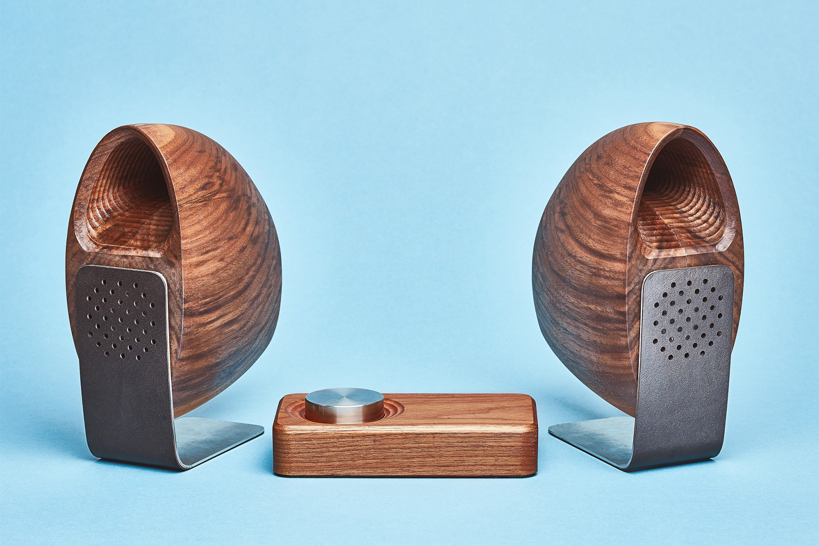 Grovemade Supplements Its Wooden Accessories With a Set of Speakers