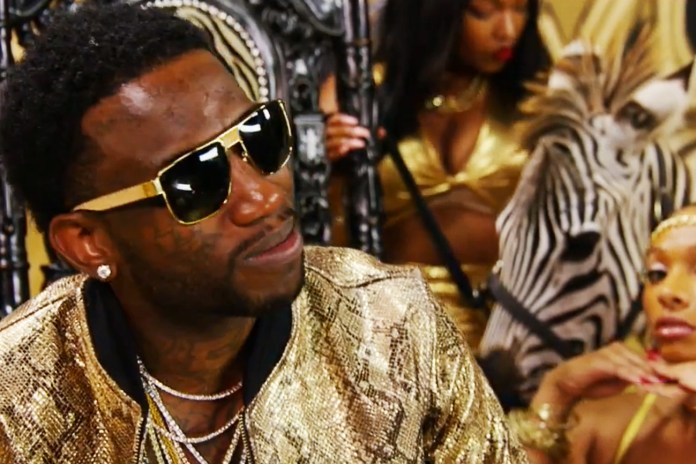 """Gucci Mane's Opulent Music Video for """"At Least a M"""" Features a Special A-Town Associate"""
