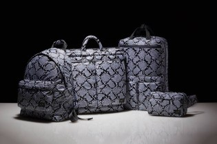 """HEAD PORTER Gives Its Signature Items the """"Python"""" Treatment"""