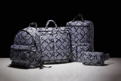 "HEAD PORTER Gives Its Signature Items the ""Python"" Treatment"