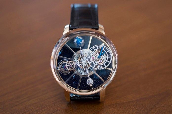 Jacob The Jeweler Unveils His Own Incredible Astronomia Tourbillon