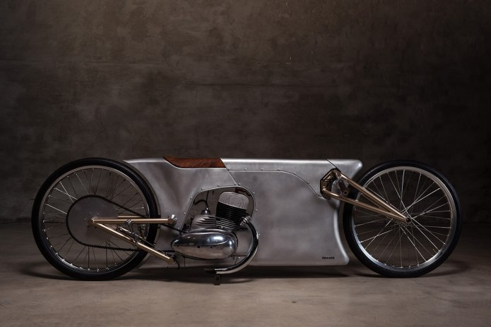The Jawa Sprint Motorcycle Is an Aluminum Dream Come True