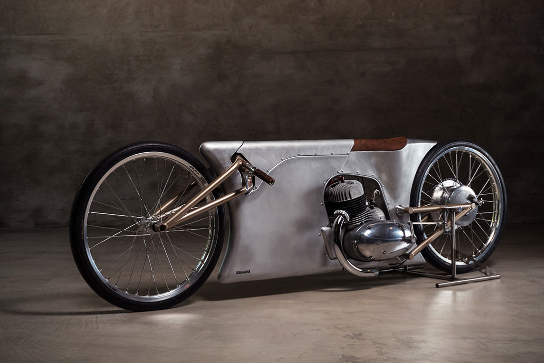 Jawa Sprint Motorcycle by Urban Motors aluminium germany berlin custom-made