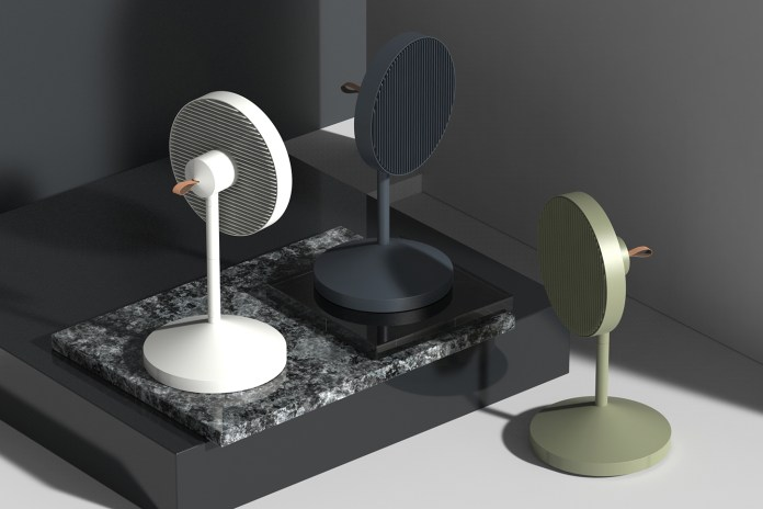 JiyounKim Studio Introduces a Collapsible, Space-Saving Fan