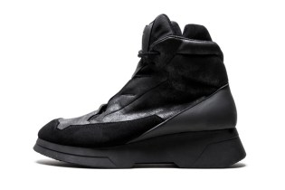 JULIUS Releases a Line of High-Top Sneakers for Its 2016 Fall/Winter Collection