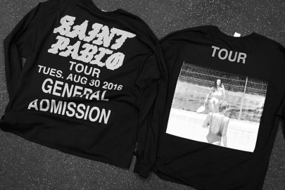 Kanye West Unveils More Saint Pablo Tour Merchandise