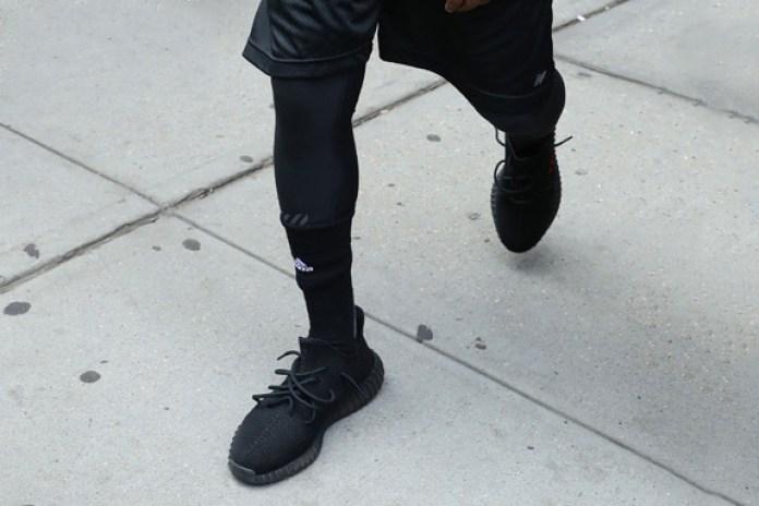 Kanye Wears Unreleased Yeezy Boosts and Saint Pablo Tour Hoodie