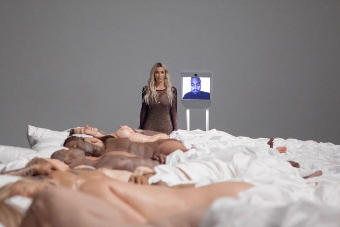 Kanye West's 'Famous' Sculpture Is Now an Art Exhibit