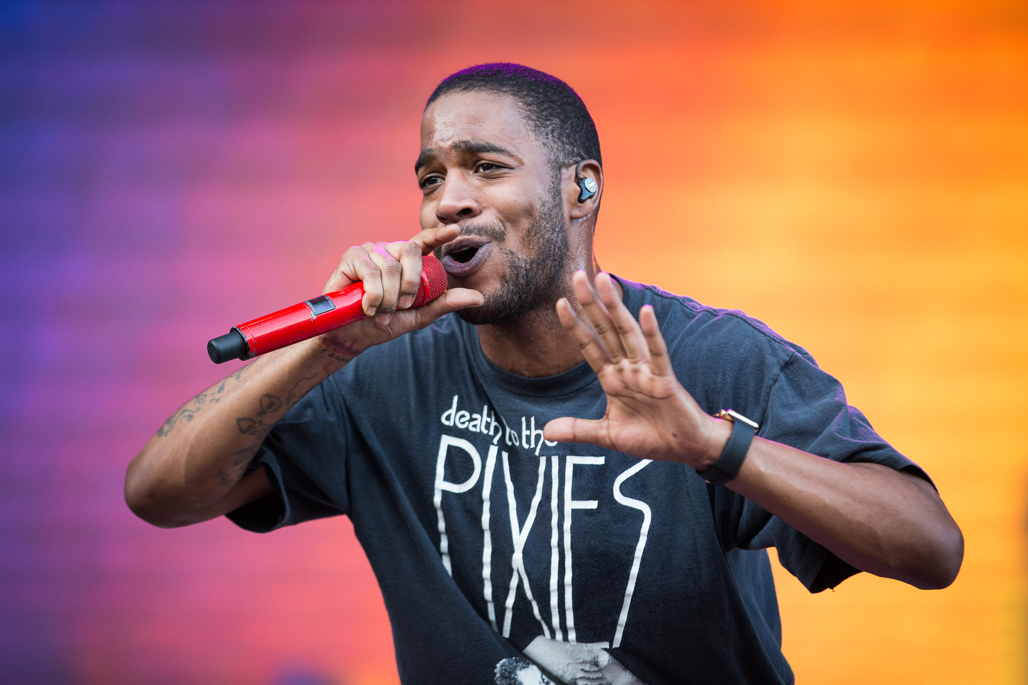 Kid Cudi Says Both His 2016 Albums Are Done