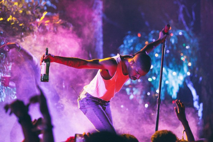 Watch Kid Cudi Debut New Pharrell-Produced Track at Trillectro Music Festival