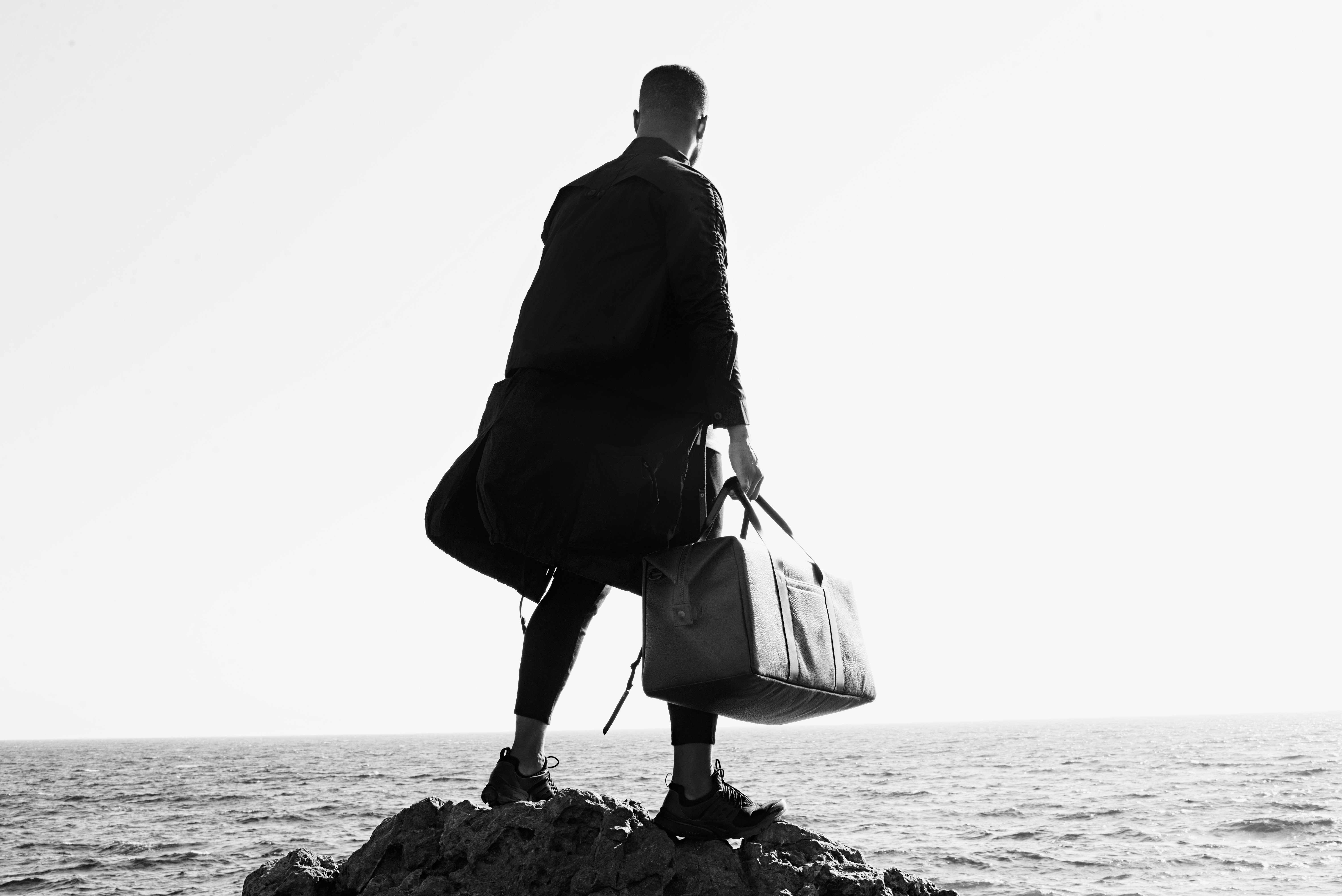 """KILLSPENCER Debuts an All-Black """"Forever USA"""" Luxury Travel Collection"""