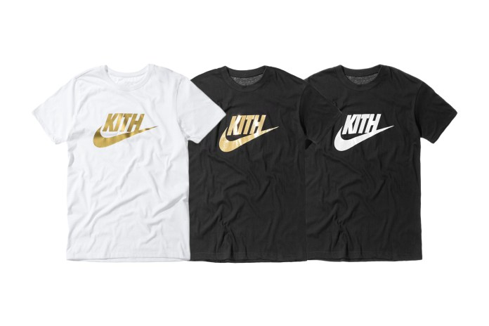 KITH Celebrates Special Pop-Up With Nike via Commemorative Co-Branded Logo Tee
